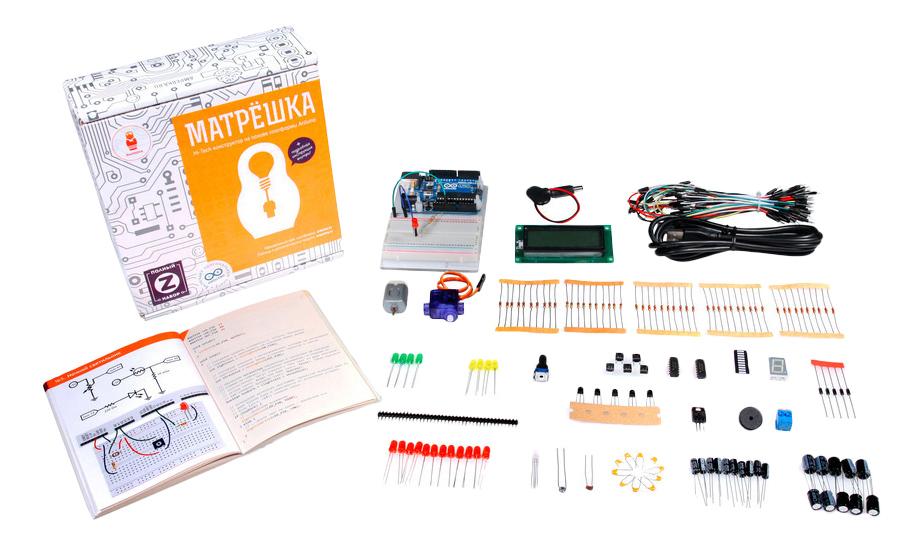 Конструктор электронный Матрешка Z Амперка AMP S010