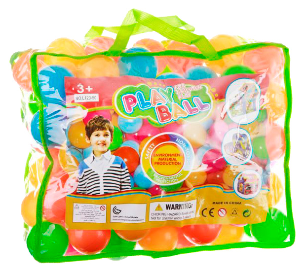 Шарики для сухих бассейнов Gratwest Play Ball Ф81653 фото