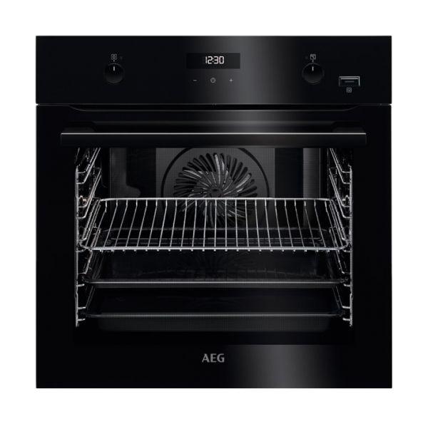 Встраиваемый электрический духовой шкаф AEG BER455120B Black