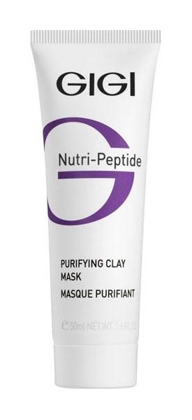 Маска для лица GIGI Nutri-Peptide Purifying Clay Mask 50 мл фото