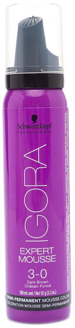 Купить Мусс для волос Schwarzkopf Professional Темный коричневый натуральный Expert Mousse