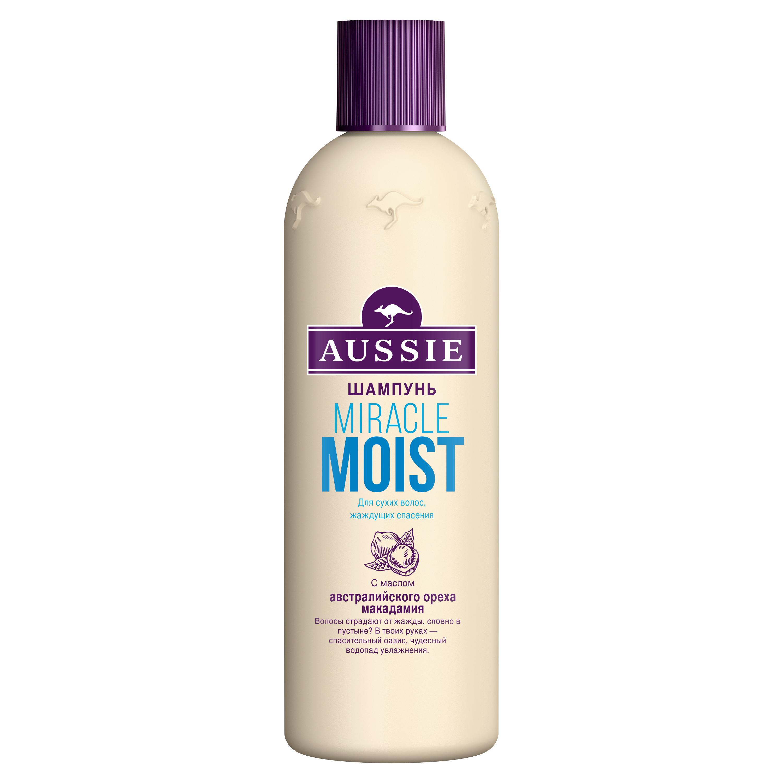 Шампунь Aussie Miracle Moist для сухих поврежденных волос 300 мл