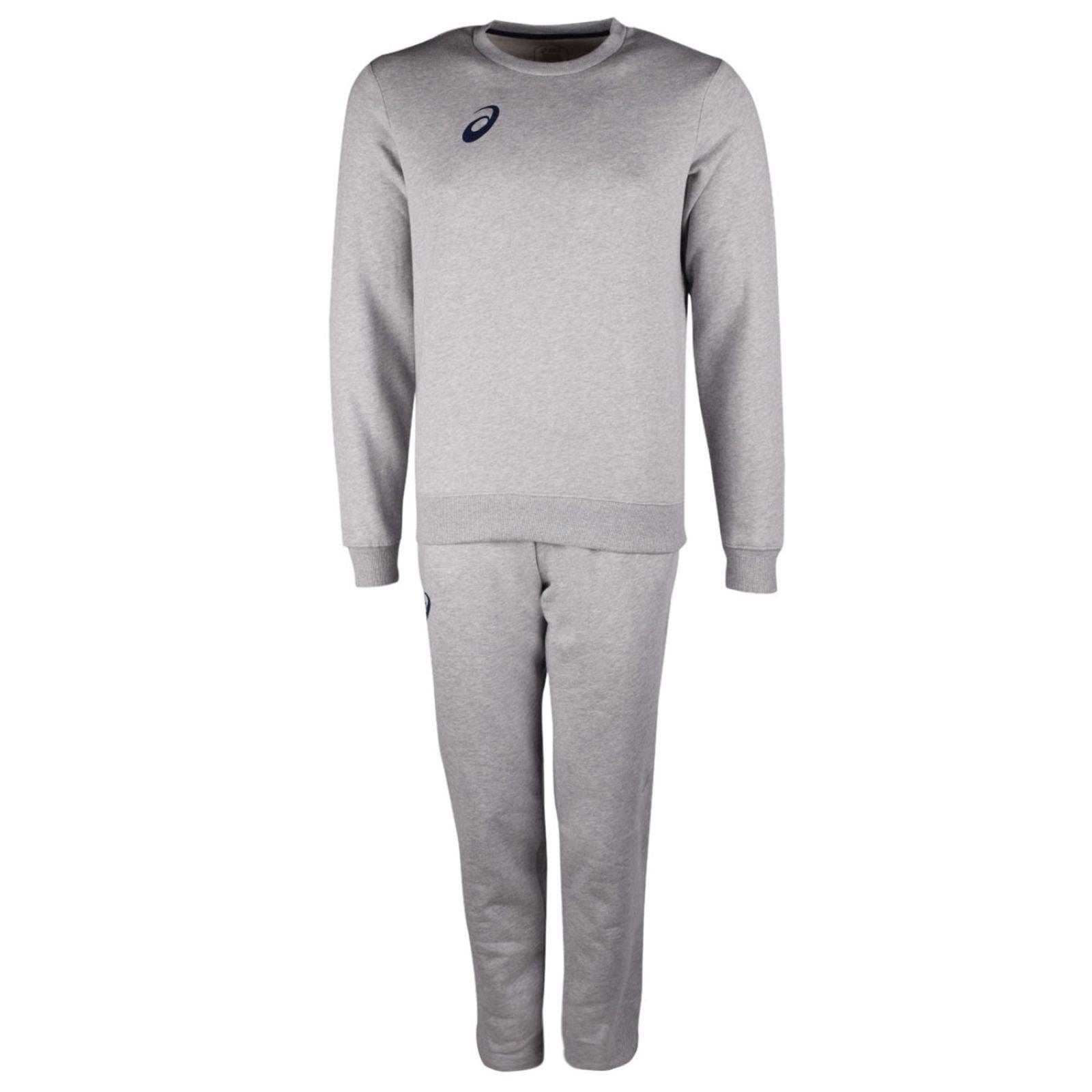 Спортивный костюм Asics Man Fleece Suit, серый,