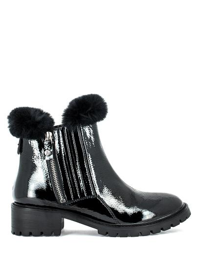 Ботинки женские черные MASSIMO SANTINI  60014