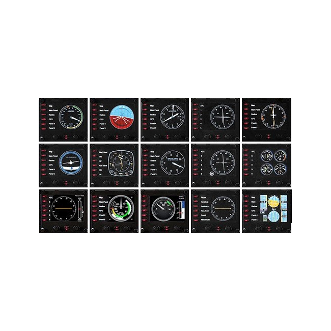 Приборная панель Logitech G Flight Instrument Panel