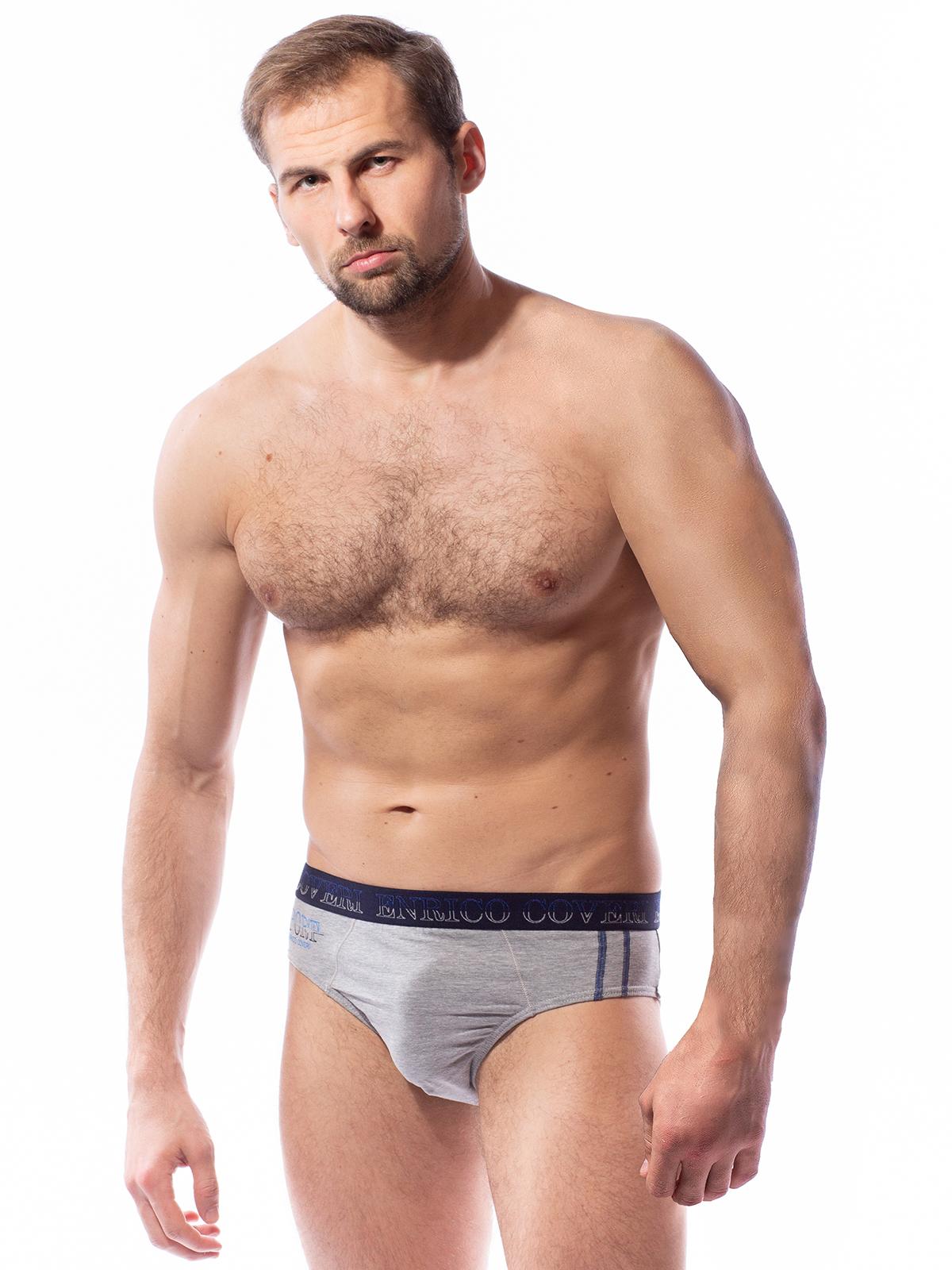 Трусы мужские мужские Enrico Coveri серые XL