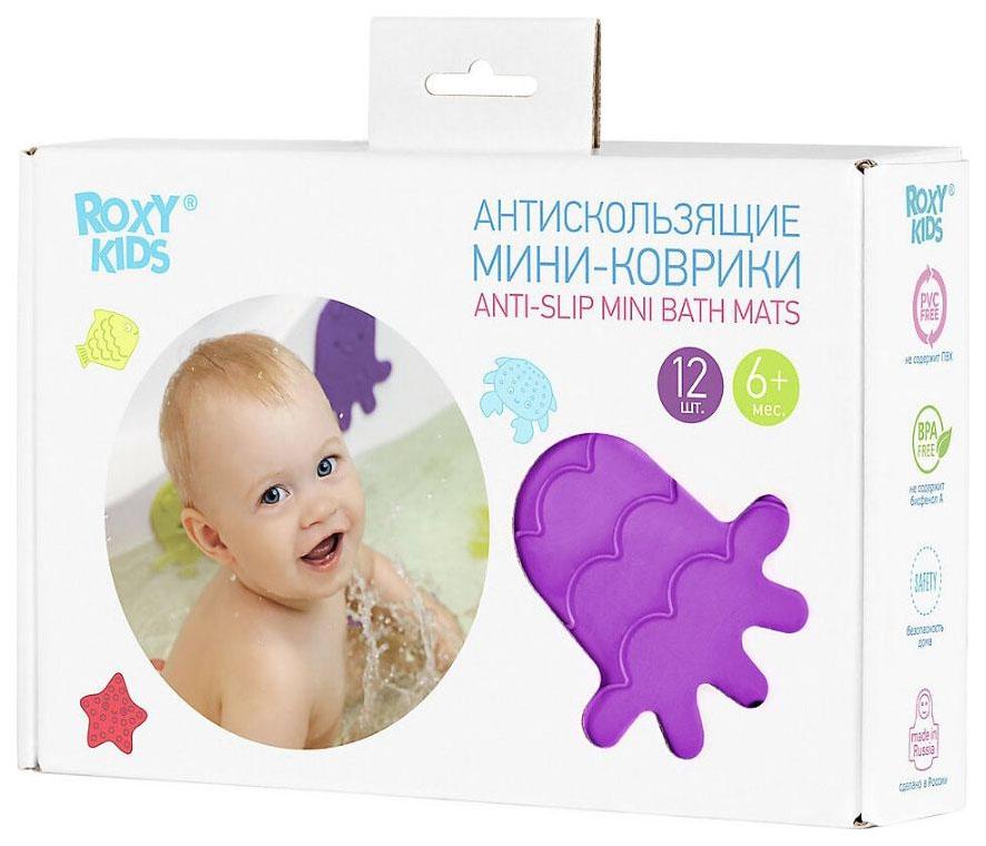 ROXY KIDS Антискользящие мини коврики для ванны.
