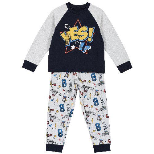 Купить 09031277, Пижама детская Chicco, цв. серый р.116,