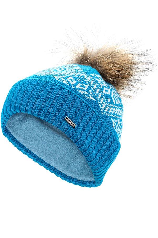 Купить KW16-71118J, Шапка для девочки Finn Flare, цв. синий, р-р. 52, Детские шапки и шарфы