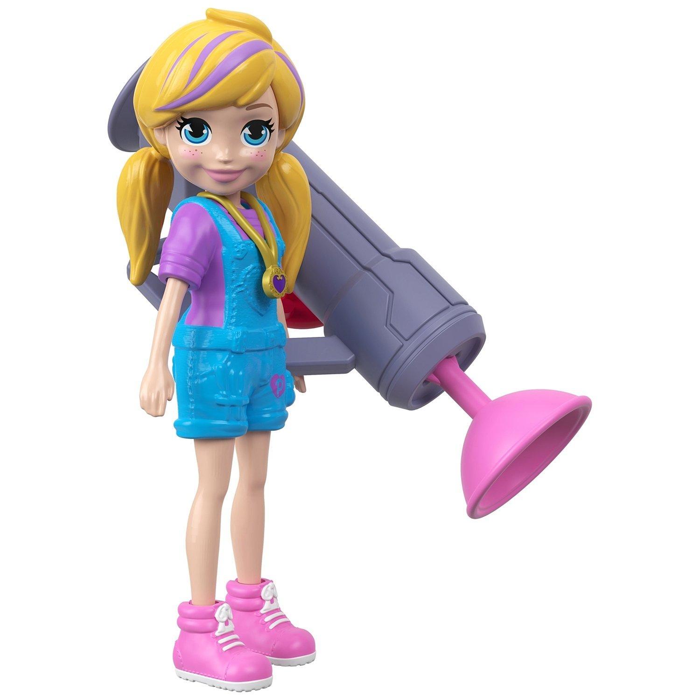 """Polly Pocket® Кукла """"Полли c бластером"""""""