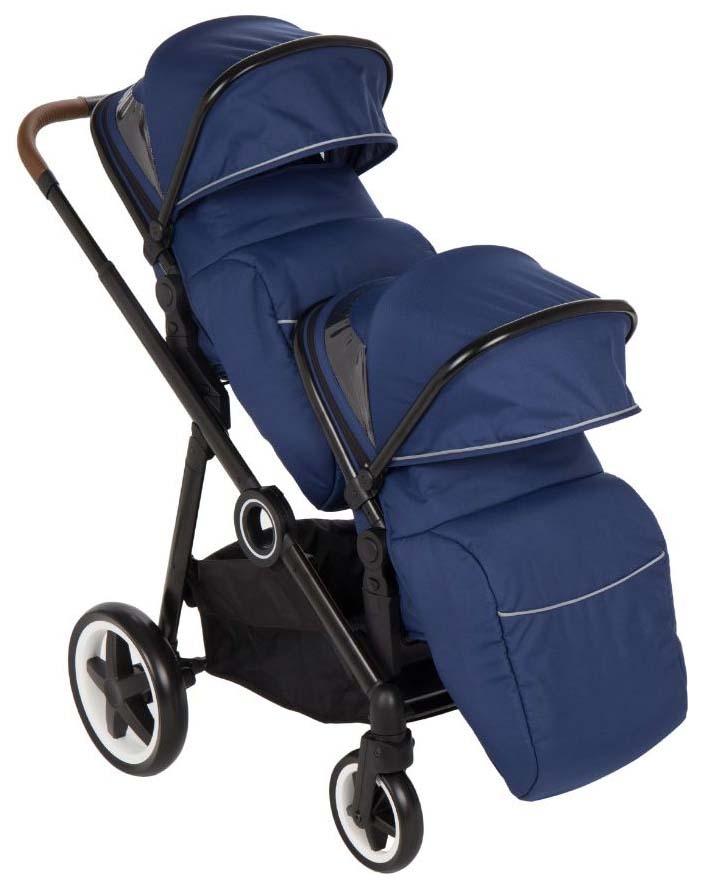 Купить Прогулочная коляска McCan M-11, цвет: синий (модель 2019 года), Коляски-книжки