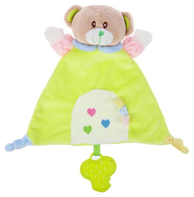 Купить Игрушка-комфортер с грызунком Мишка Бэби Крошка Я, Комфортеры для новорожденных