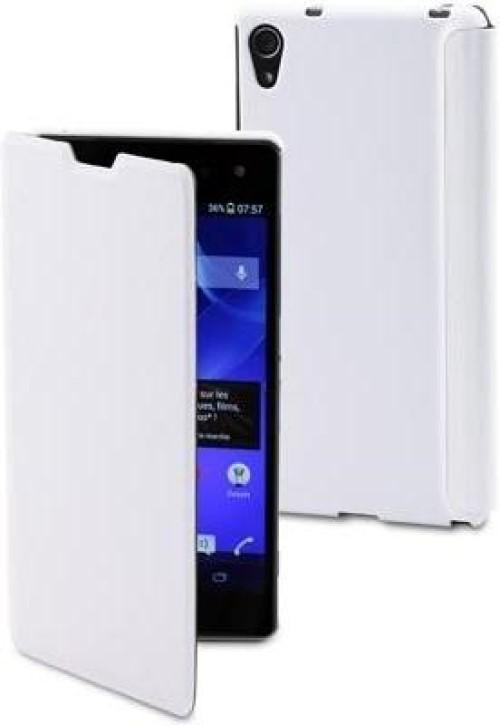 Чехол Muvit for Xperia Easy Folio для Sony Xperia Z2 кожа White
