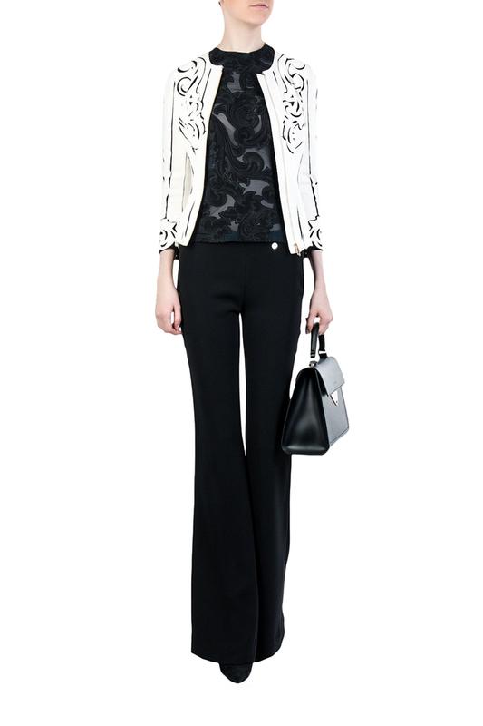 Брюки женские Versace Collection 88730 черные 42 IT