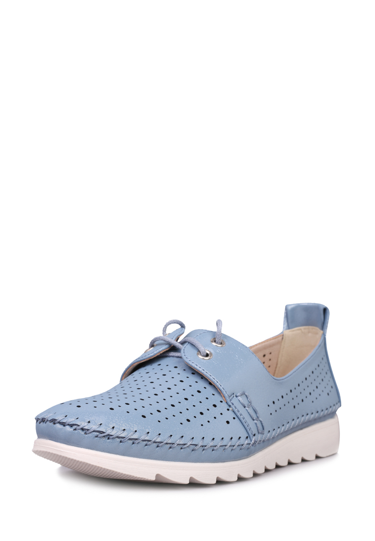 Мокасины женские T.Taccardi 710017765 голубые 40 RU