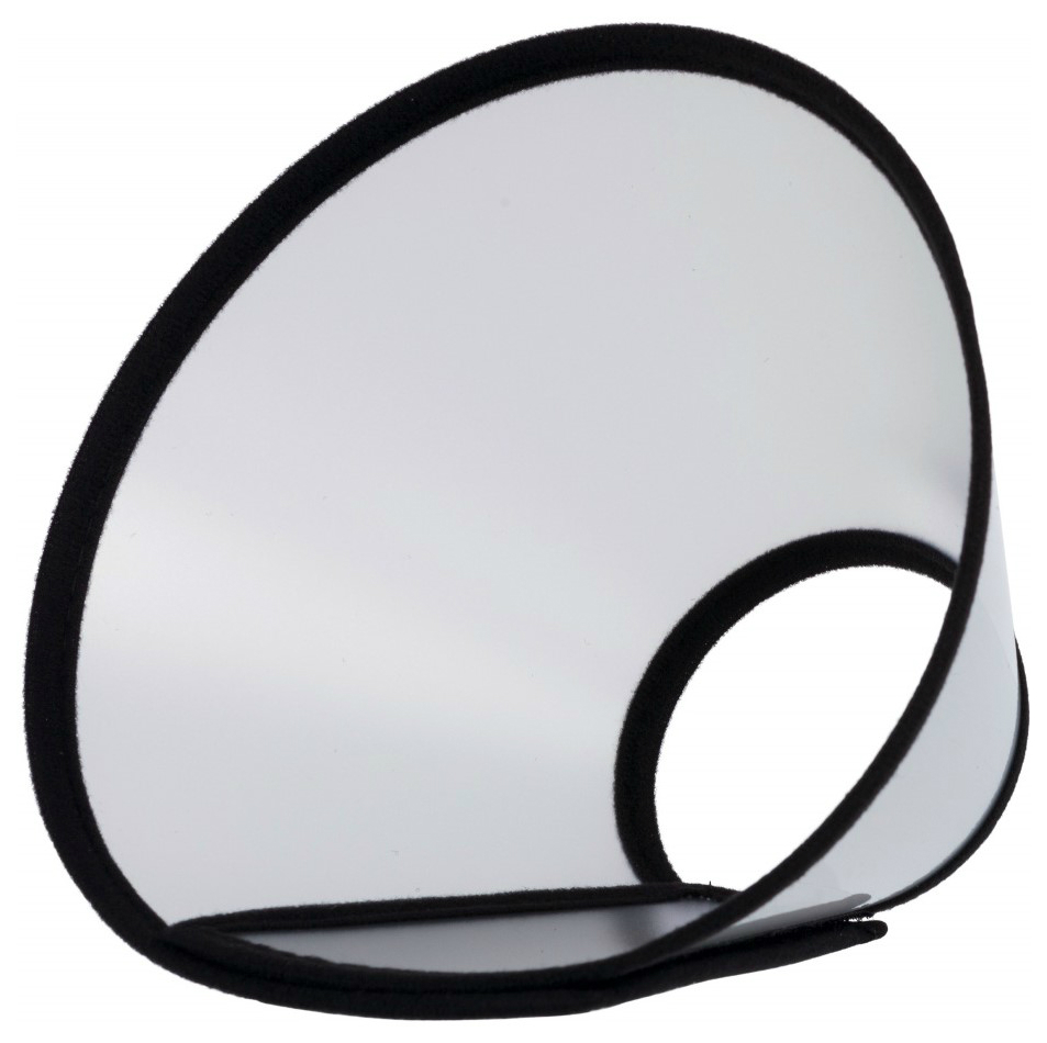 Trixie защитный воротник на липучке (30-37x14 см)