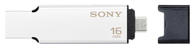 USB-флешка Sony USM16BA2/S 16GB Silver/Black