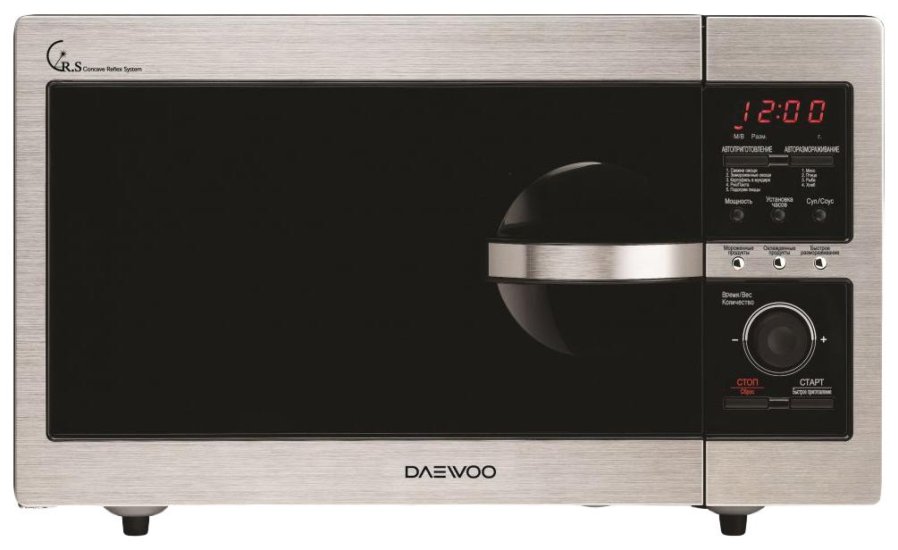 Микроволновая печь соло Daewoo KOR 8A4R silver/black