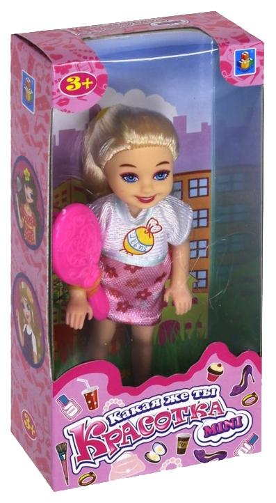 Купить Кукла 1 Toy Какая же ты красотка mini 13 см Т10171, Классические куклы