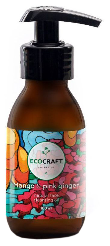 Масло для лица EcoCraft Mango and pink ginger 100 мл