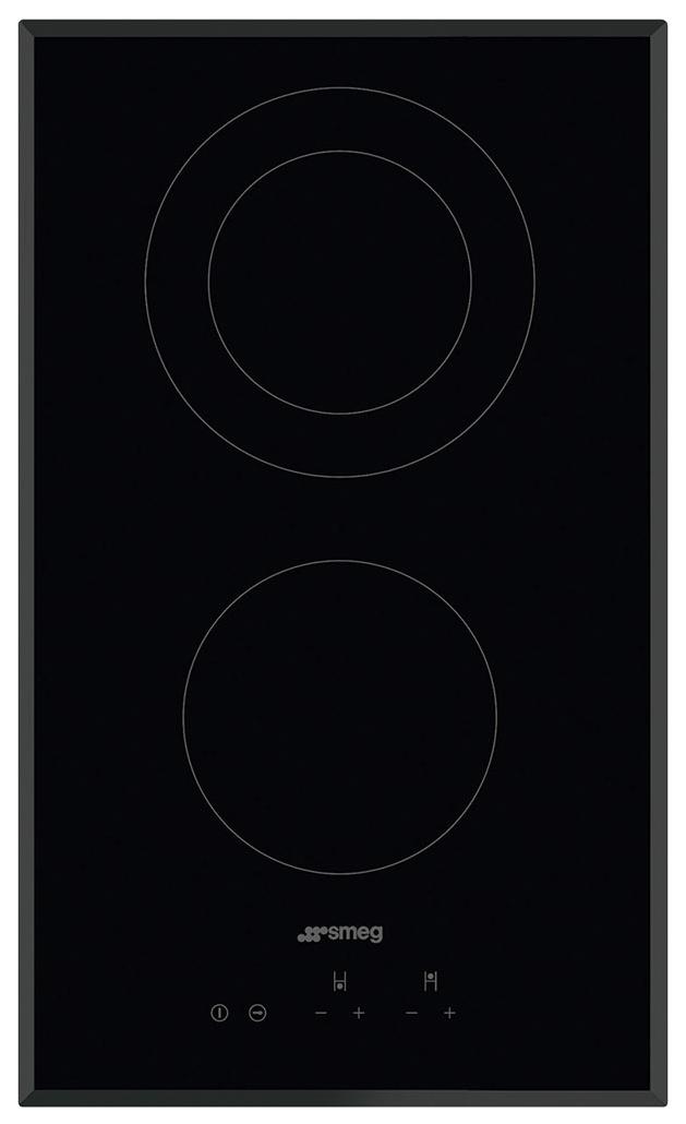 Встраиваемая варочная панель электрическая Smeg SE332EB Black