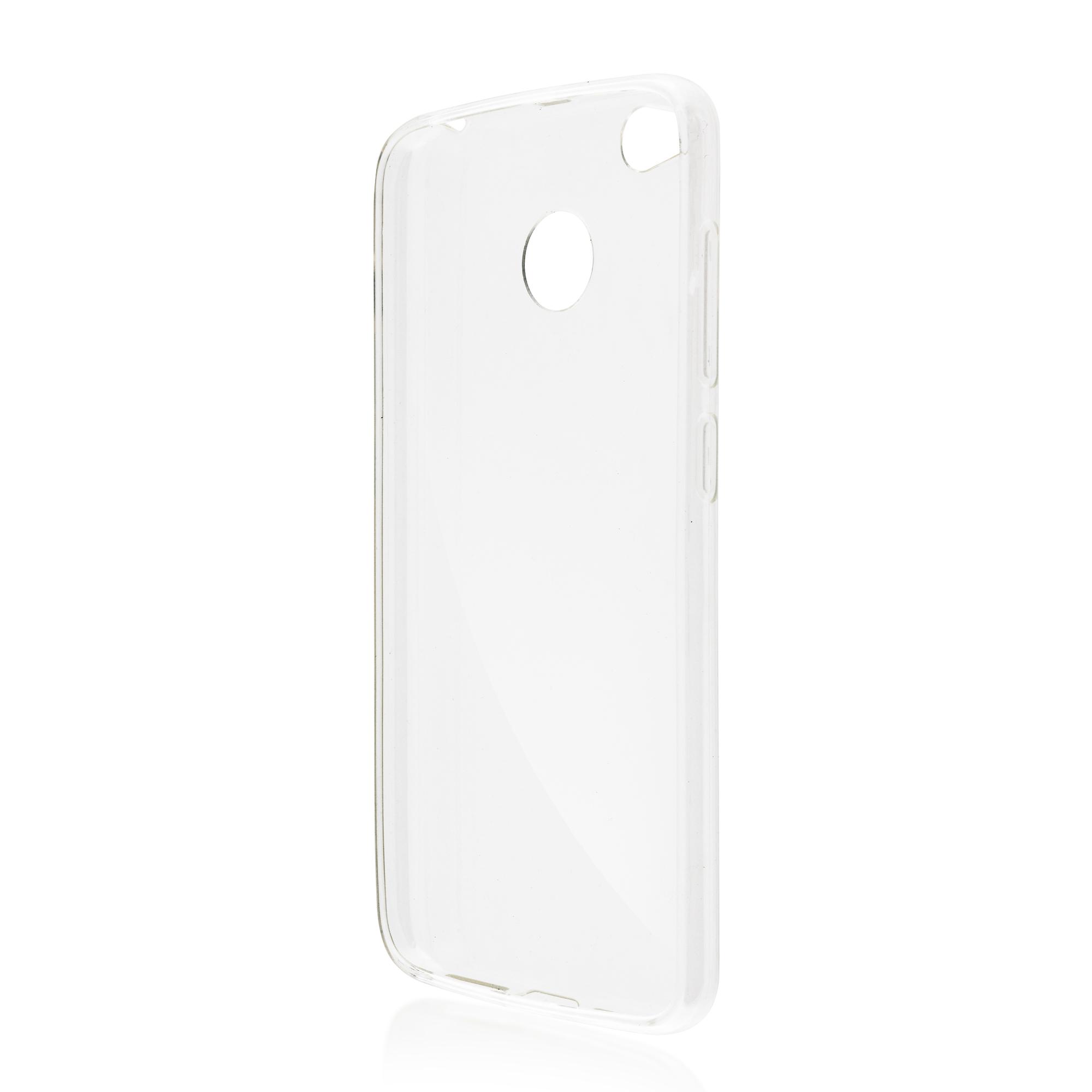 Силиконовый чехол Brosco для Xiaomi Redmi 4X, прозрачный