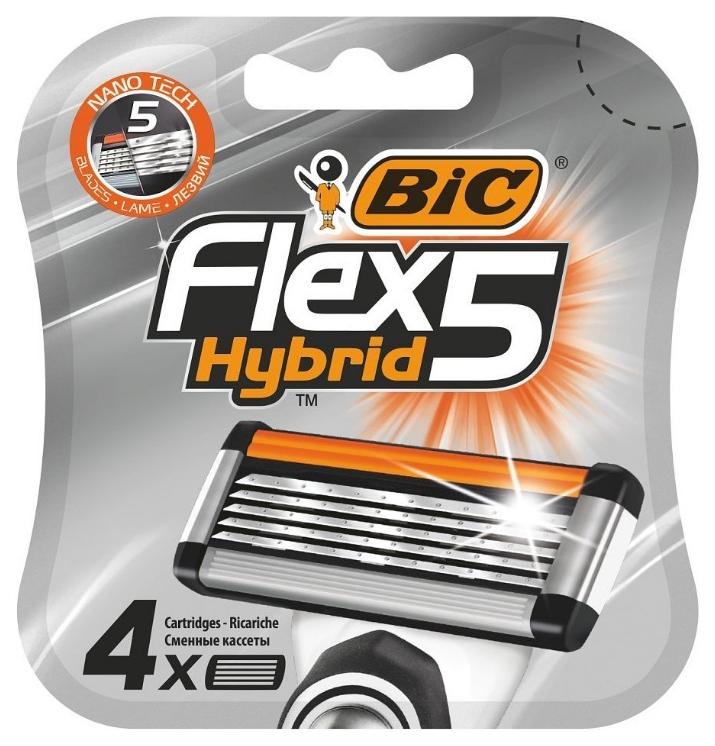 Сменное лезвие для станка BIC Flex 5 Hybrid