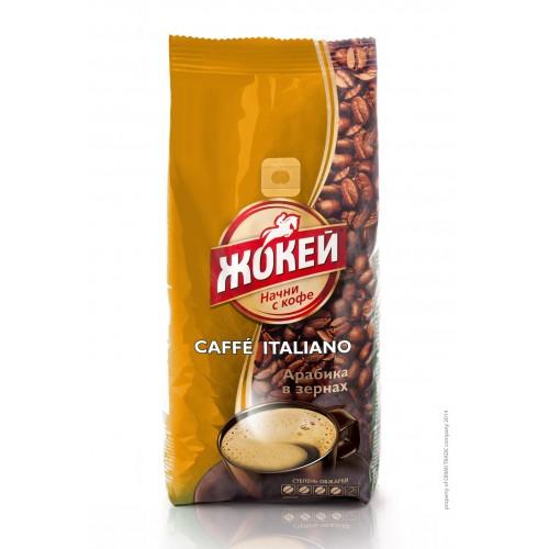 Кофе в зернах Жокей кафе итальяно 500 г