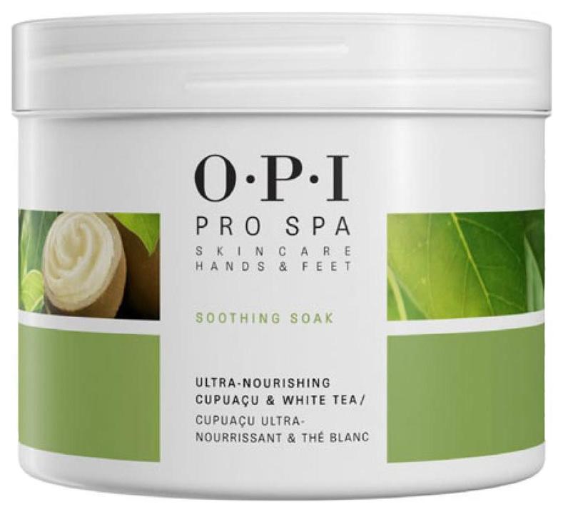 Смягчающее средство OPI для педикюрной ванночки Soothing Soak ASA02 204 гр
