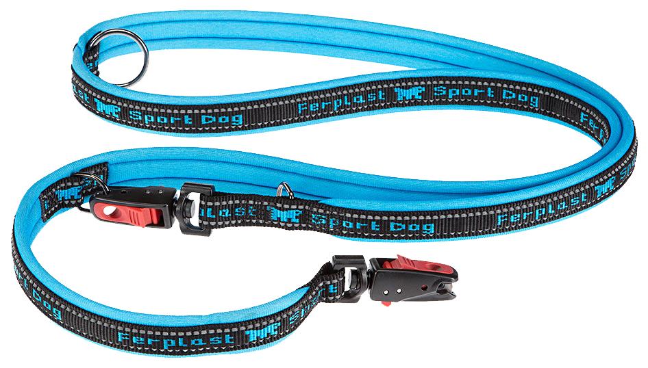 Поводок для собак Ferplas Sport Dog Matic 20 мм х 200 см Синий 78004435