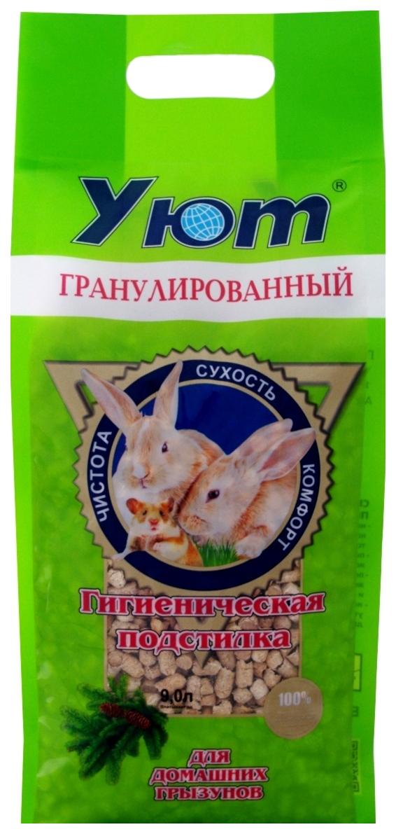Наполнитель для грызунов УЮТ Опилки пресованные гранулированные