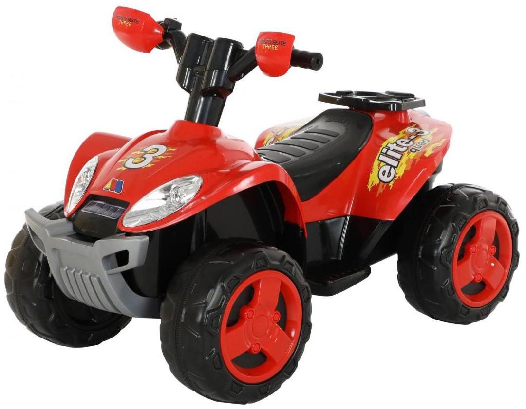Купить Детский транспорт, Квадроцикл Molto Elite 3 6V красный, Электромобили