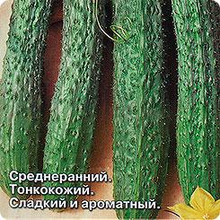Семена Огурец Китайский Холодоустойчивый F1, 0,2