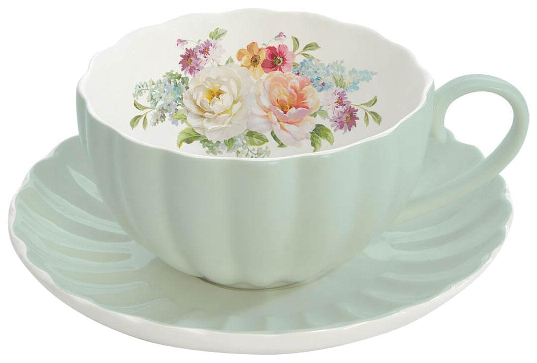 Чайная пара EASY LIFE Jardin Royal R1282/ROYG