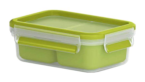 Контейнер для хранения пищи EMSA Clip#and#Close 3100518101 Зеленый, прозрачный
