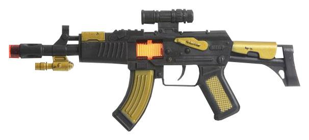 Купить Огнестрельное игрушечное оружие Гратвест Автомат 30 см, Gratwest, Стрелковое игрушечное оружие