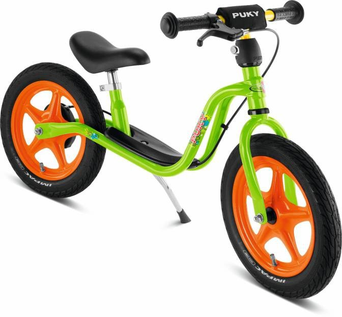 Беговел Puky LR 1L Br 4031 салатовый, оранжевый зеленый, оранжевый фото