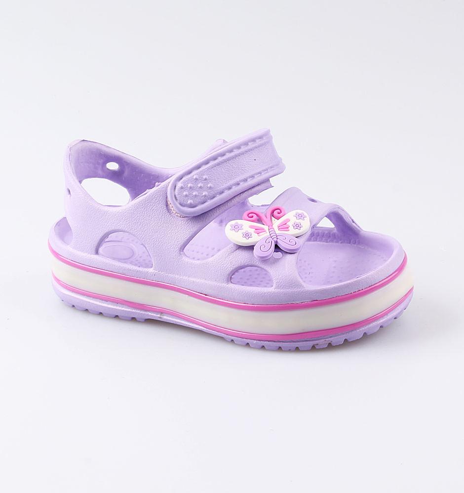 Купить Пляжная обувь Котофей 325077-01 для девочек р.28, Шлепанцы и сланцы детские