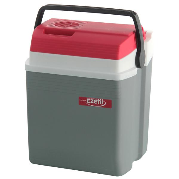 Автохолодильник EZETIL 10775036 серый, красный, белый E 21