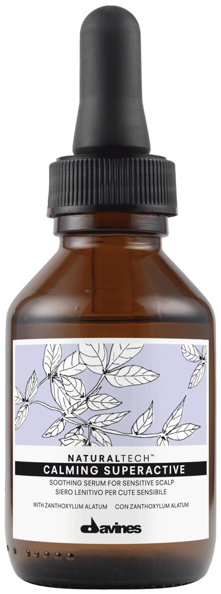 Купить Сыворотка для волос Davines Natural Tech Calming Superactive Soothing Serum 100 мл