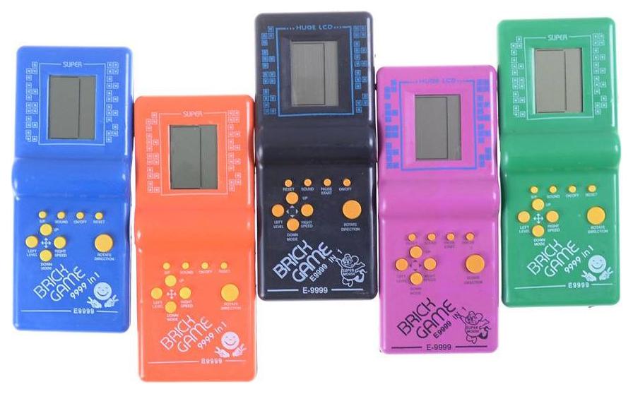 Купить Интерактивная игрушка Shantou Gepai Электронная игра тетрис brick game в ассортименте, Интерактивные игрушки
