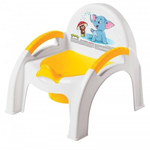 Горшок стульчик Папитто Желтый 4313267