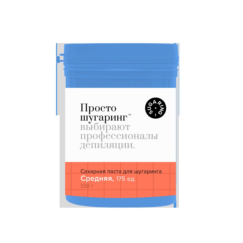 Сахарная паста для депиляции средняя Просто Шугаринг, 0,33 кг