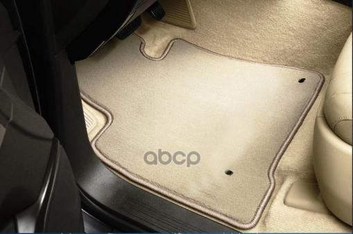 Коврики в салон Autofamily для VW Multivan HighLine 2004, текстиль, бежевый