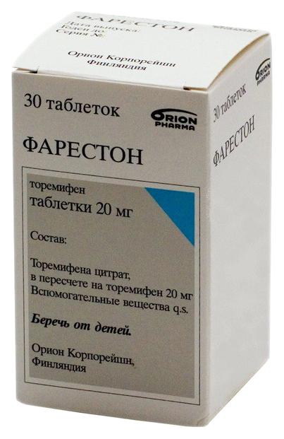 Фарестон таблетки 20 мг 30 шт.