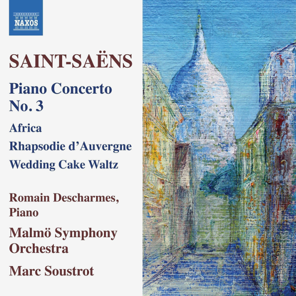 Romain Descharmes, Malmo Symphony Orchestra, Marc Soustrot