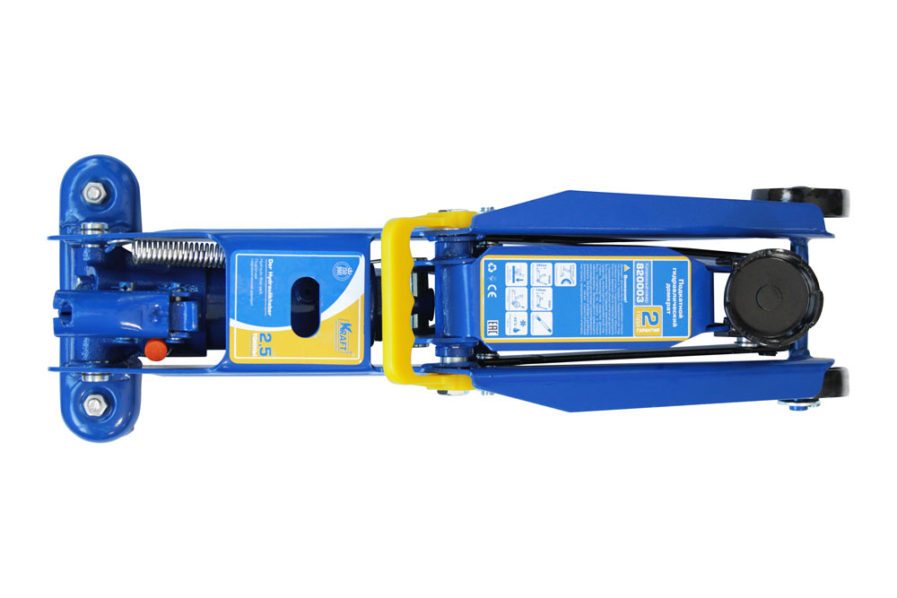 Домкрат подкатной гидравлический  2,5 т (min 135mm-max 385mm)