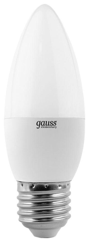 Лампочка Gauss Elementary E27 8W 4100K 33228