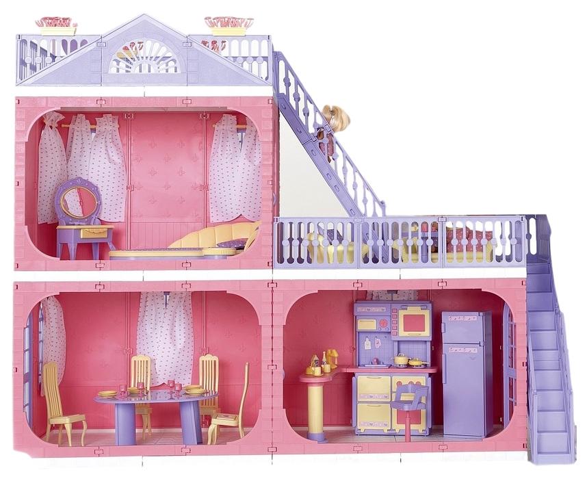 Купить Кукольный домик Огонек Маленькая принцесса ОГ1457, Кукольные домики