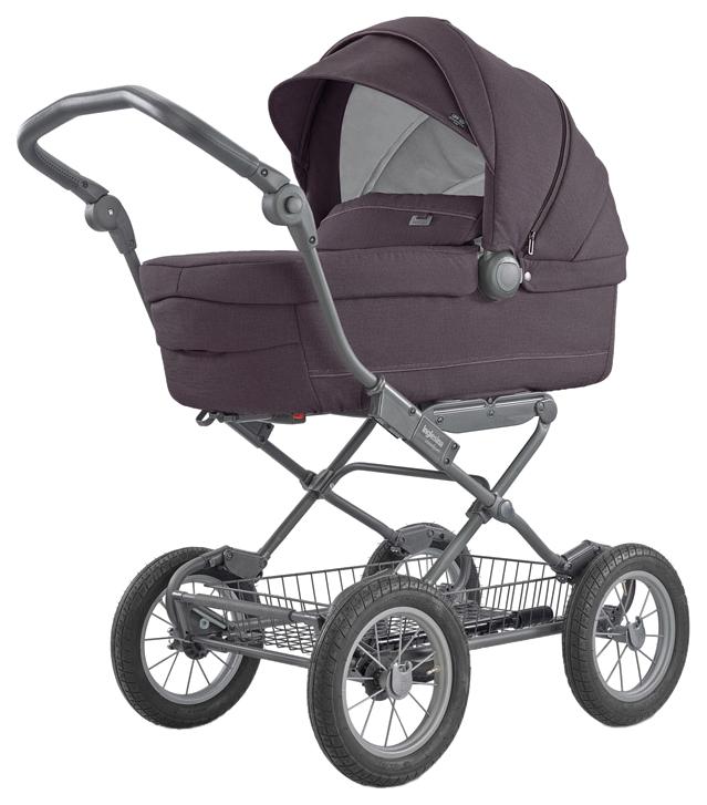 Купить Коляска для новорожденного Inglesina Sofia На шасси Ergobike Slate Мarron 2018, Коляски для новорожденных